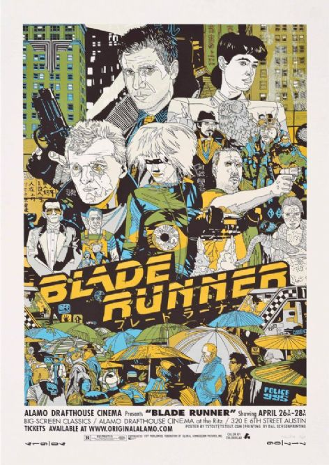 Blade Runner Classic movie poster